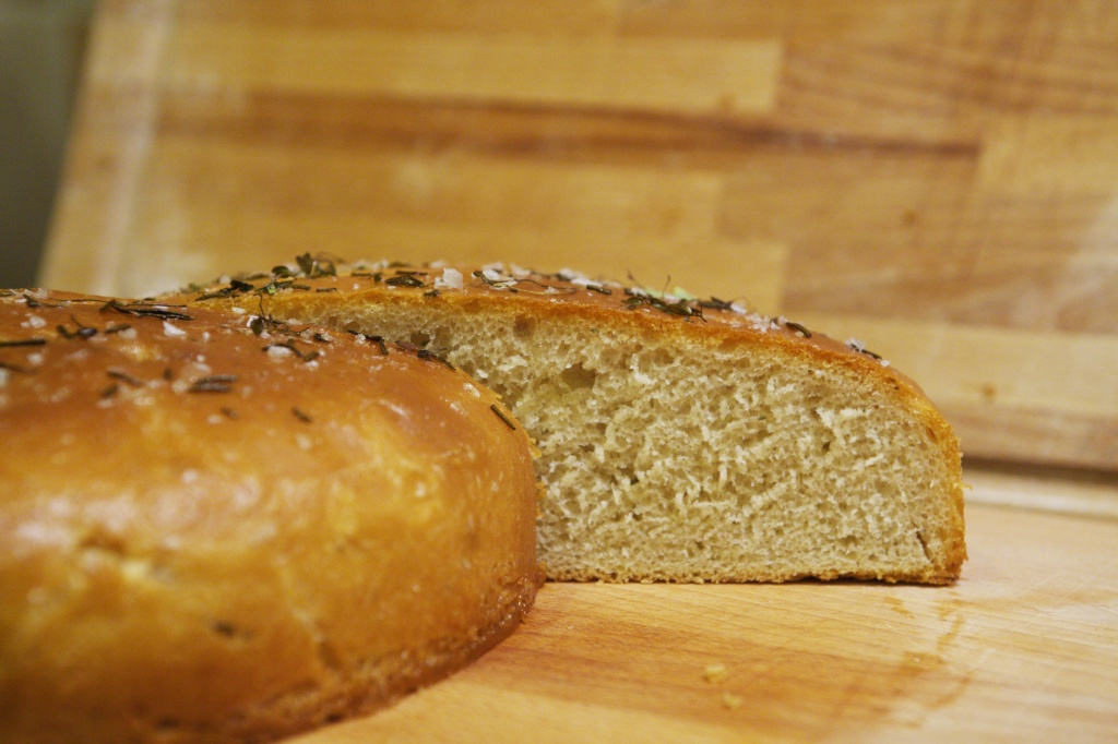 Rosemary and Thyme Focaccia